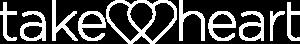 Take Heart White Logo